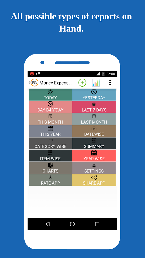 Money Expense View- screenshot