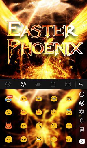 Download Easter Phoenix Keyboard Theme MOD APK 3