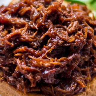 Slow Cooker Beef BBQ Sandwich