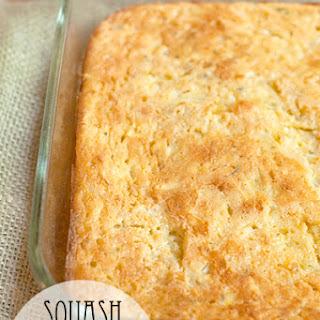 Squash and Cornbread Casserole