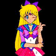 Kawaii Anime & Manga Color By Number Anime Paint
