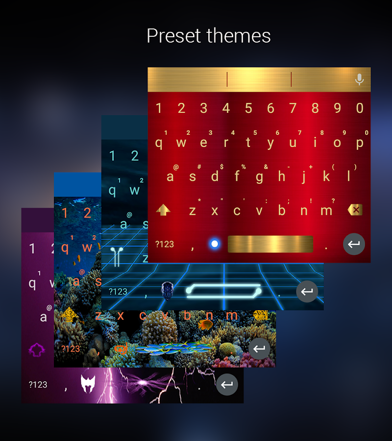 OrbitalKey Keyboard (Pro)- screenshot