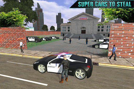 Impossible Police Transport Car Theft 1.0 screenshots 8