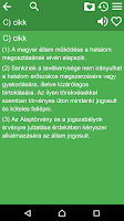 Screenshot of Constitution of Hungary