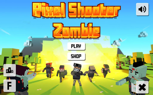 Pixel Shooter Zombies