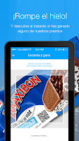 Screenshot of Helados Nestlé