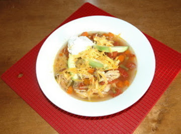 Spicy Chicken Soup Recipe