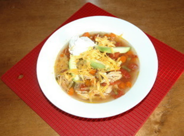 Spicy Chicken Soup Recipe