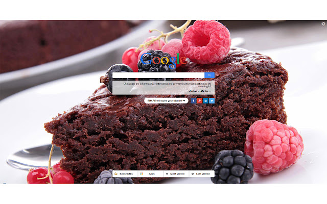 Cakes New Tab