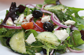 Black Olive & Feta Salad - By The London Hog Roast Company
