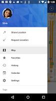 Screenshot of Glympse - Share GPS location
