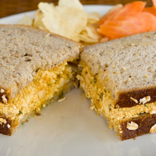 Eggless Egg Salad Sandwich.