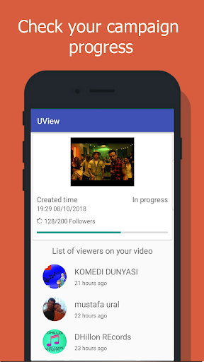 UView - View4View for YouTube video 2.5 screenshots 3