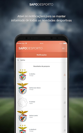Futebol screenshot 5