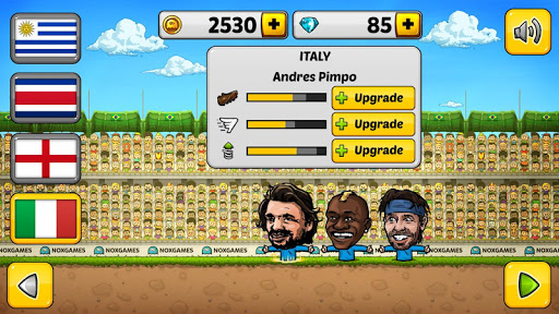 ⚽Puppet Soccer 2014 - Big Head Football ? screenshot 14