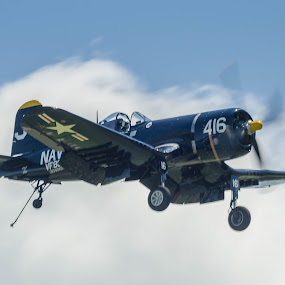 Corsair Ball by Ron Malec - Transportation Airplanes