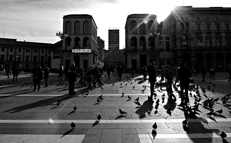 Controluce in piazza Duomo di donyb
