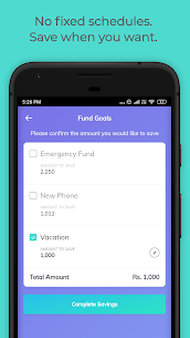 Easyplan Saving App: Set goals, Withdraw instantly Apk Download for Android 5