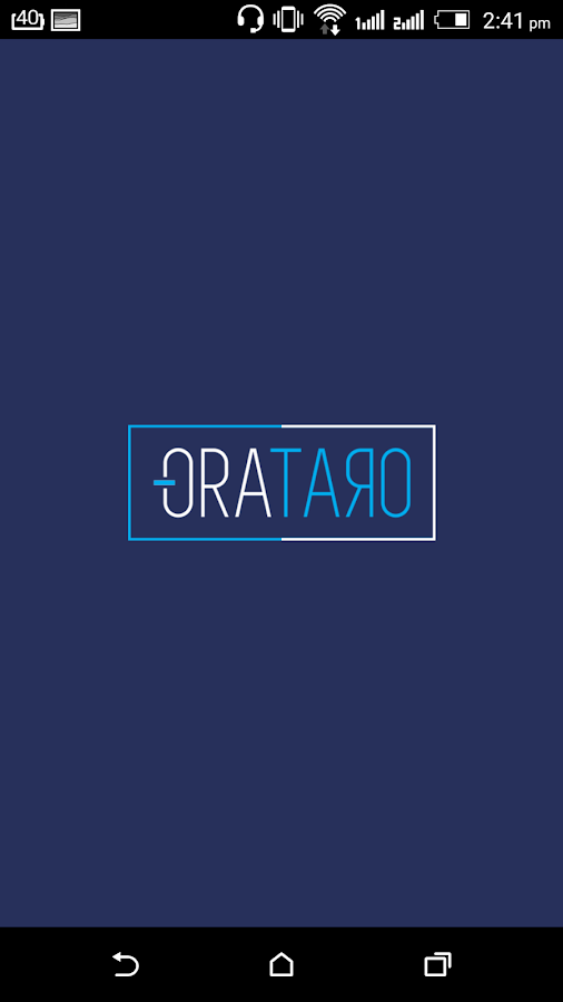 ORATARO- screenshot