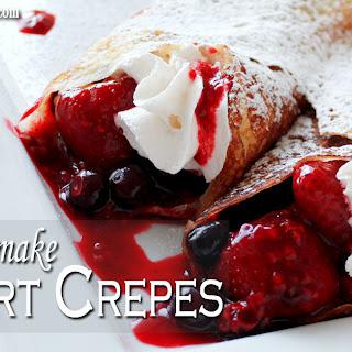 How to Make Dessert Crepes Recipe