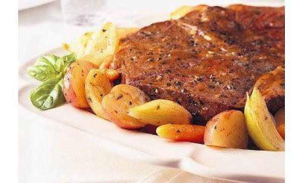 Lemon Herb Beef Pot Roast Recipe