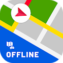 Offline maps with Street View : GPS Route Tracker icon