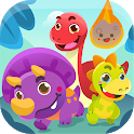 Dinosaur games for kids from 2 to 8 years icon