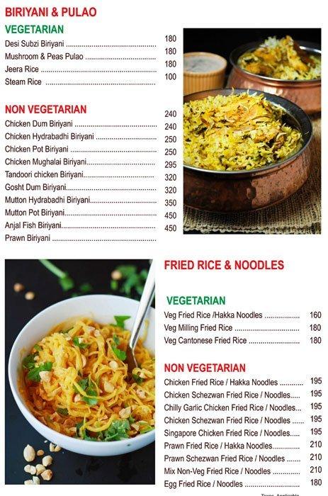 Chef's Bank menu 3
