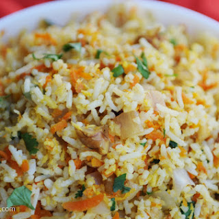 Coconut Carrot Rice