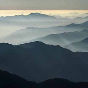 layers we all leave behind by Rohit Chawla - Landscapes Mountains & Hills ( mountains, himalaya, nature, garhwal, chopta, nanda devi, cosurvivor, uttarakhand, india, landscape, chandrashila )