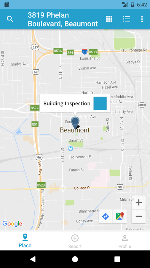 Beaumont 311- screenshot