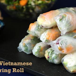 Easy Vietnamese Spring Roll