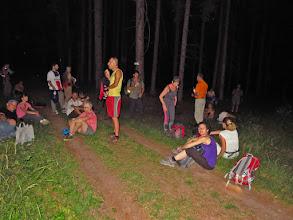 Photo: dernière pause avant la montée au Falkenstein