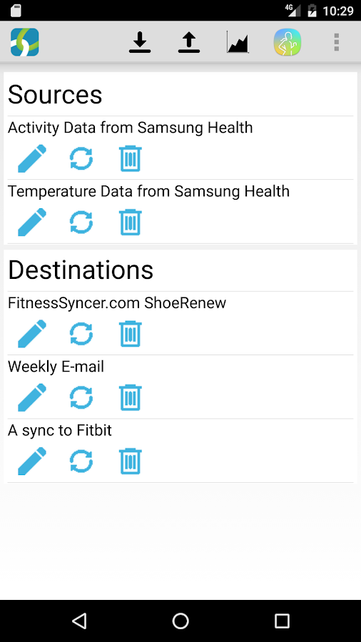 FitnessSyncer- screenshot