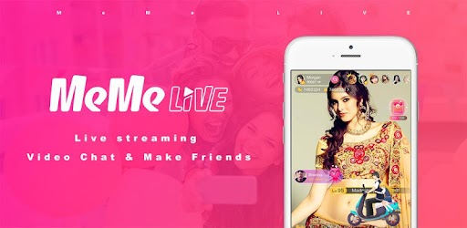 MeMe Live - Live Stream Video Chat & Make Friends APK 0