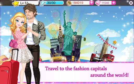 Star Girl - Fashion, Makeup & Dress Up  screenshots 3