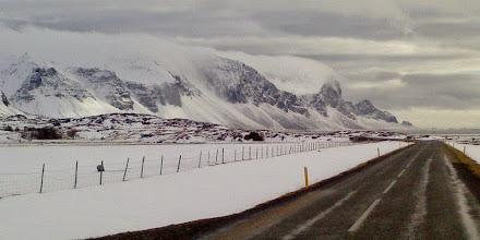 Photo: Costa Sud d'Islanda in inverno. www.90est.it/islanda-aurora-boreale.html