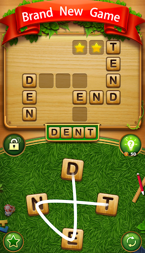 Word Cross Connect : English CrossWord Search Game Android App Screenshot