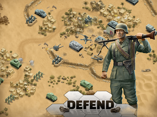 1943 Deadly Desert - a WW2 Strategy War Game 1.3.0 9