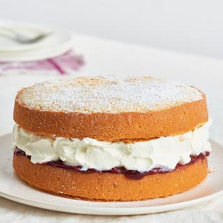 Victoria Sponge Sandwich Cake.