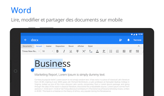 Polaris Office - Free Docs, Sheets, Slides + PDF Capture d'écran