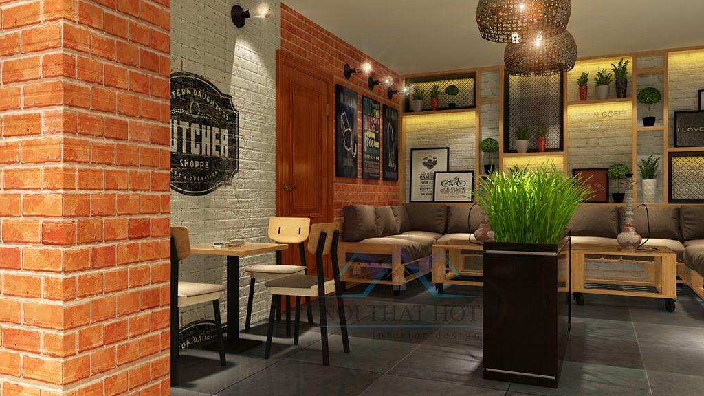 thiết kế quán cafe đẹp với không gian dễ chịu