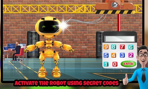 Robot Builder Factory: Construct Crazy Machine Sim - náhled