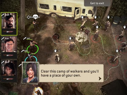 The Walking Dead No Man's Land- screenshot