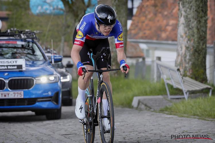 """Cavagna was al paar keer dichtbij en doet het nu écht voor Deceuninck-Quick.Step in tijdrit: """"Grote boost voor Giro"""""""