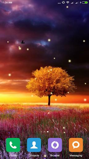 Awesome-Land Live wallpaper HD : Grow more trees screenshots 4