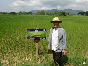 Photo: Mr. Sombut Phongpai, Bannamlod village, Bothong sub district, Thong Saen Khan district, Uttaradit province