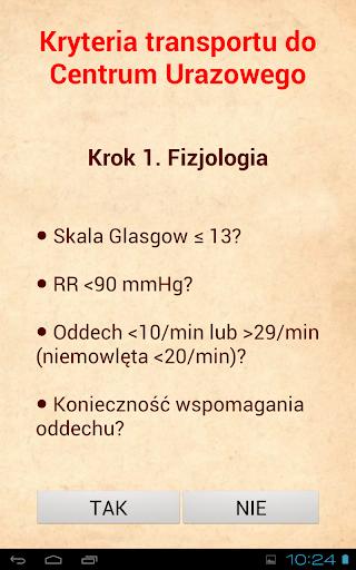 Ratownictwo medyczne algorytmy  screenshots 10