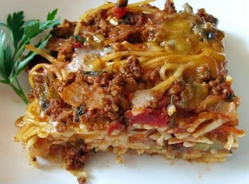 "Baked Spaghetti""This is one of my all time favorites. It is fantastic..."