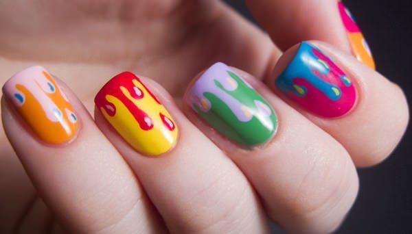 cute nail designs creem (13)